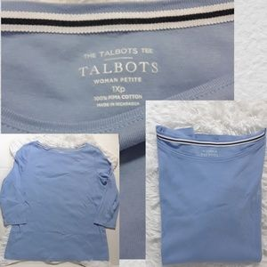 The Talbots Tee Woman's Petite- 1XP